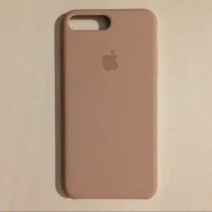 Pale pink silicone Apple cover iPhone 6+, 7+, 8+